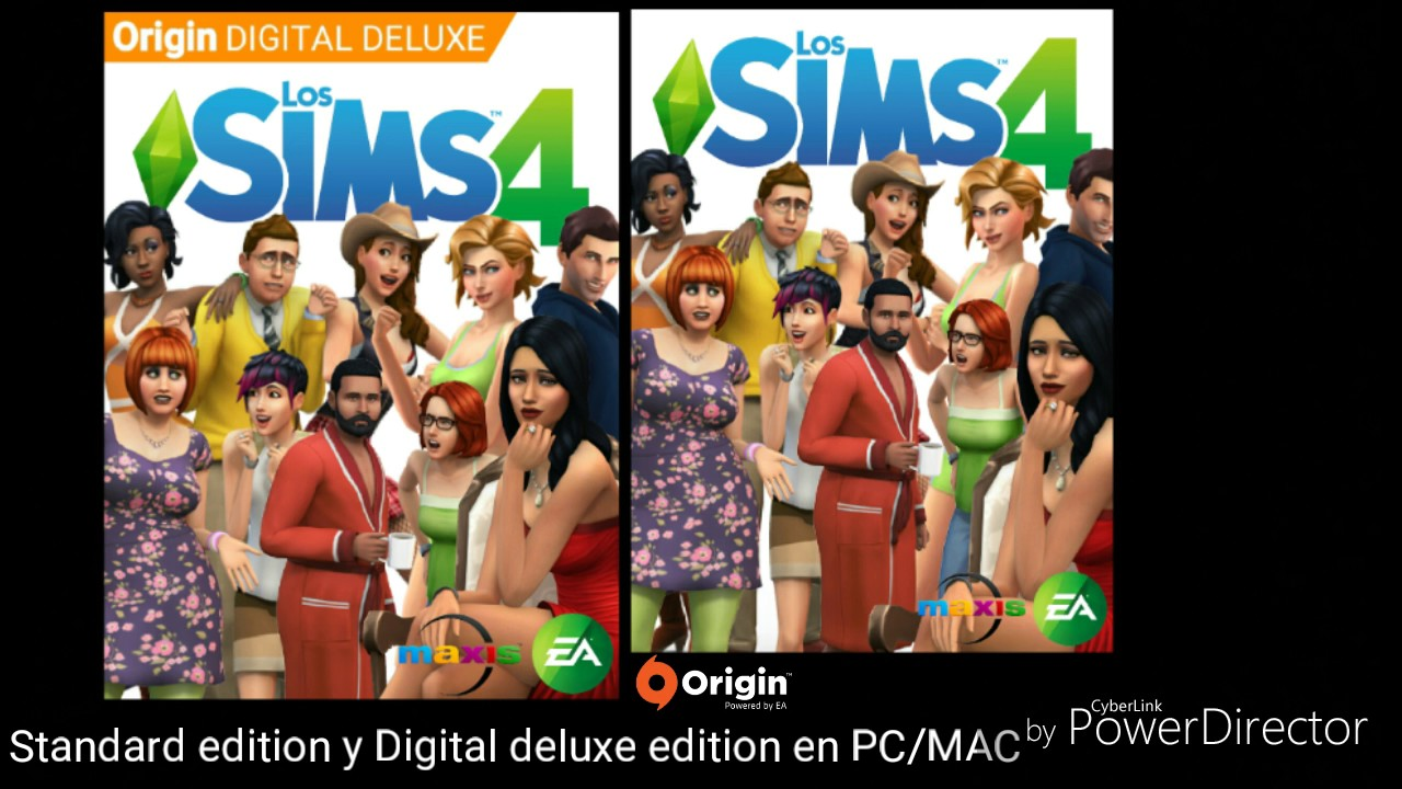Los Sims 4 Standard Edition Y Digital Deluxe Edition En Pc Mac