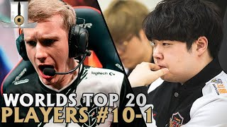 Top 20 Players at Worlds: Rankings 10-1 | 2019 World Championship