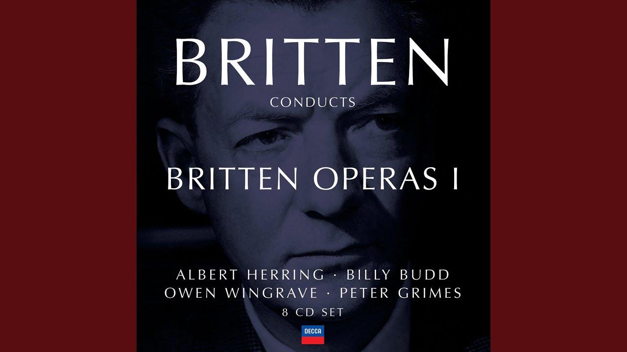 """Britten: Peter Grimes, Op.33 / Act 2 - """"Now Is Gossip Put On Trial"""""""