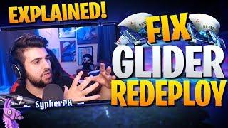 Why Epic Should Change Glider Redeploy (Fortnite Battle Royale)