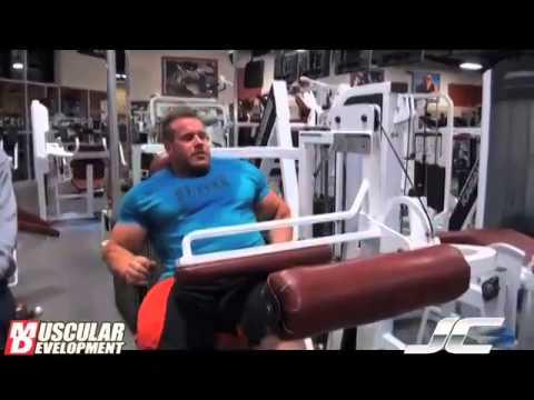 Jay Cutler Legs Workout