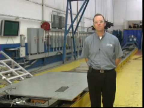 MGA Research Corporation Sled Testing Video