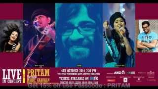 Pritam Singapore concert with mohit Chauhan,Harshdeep Kaur, Sreeram & Aditi Sharma
