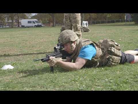 We try the British Army's new fitness tests