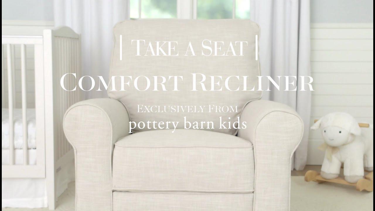 Comfort Recliner | Pottery Barn Kids