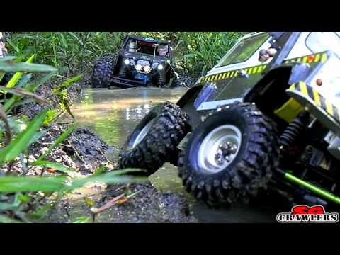 10 trucks offroad Trail Adventures: Land Rover D90 Honcho Axial Wraith AX10 Traxxas Summit