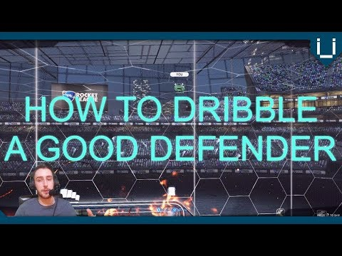 How to Dribble a Good Defender | Rocket League Tutorial thumbnail