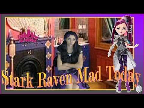 Happily Ever After High  'Stark Raven Mad Today' - Creative Princess