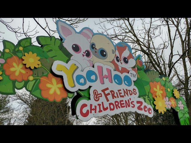 YooHoo & Friends Childrens Zoo at Chessington World of Adventures, Eco adventures of 5 furry friends