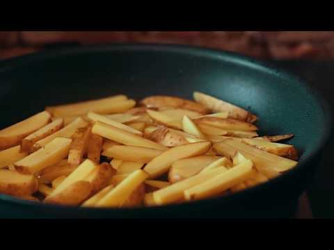 Хрустящая картошка фри