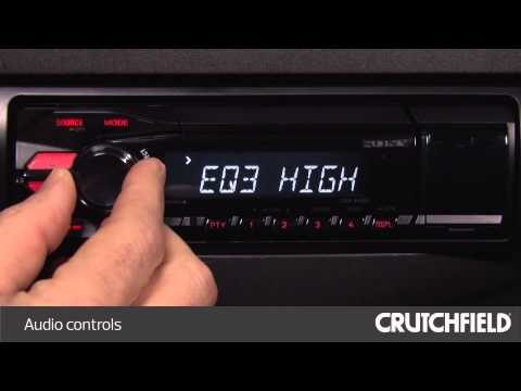 Sony DSX-A40UI Display and Controls Demo | Crutchfield Video