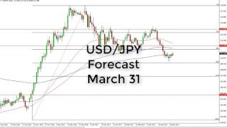 USD/JPY Technical Analysis for March 31 2017 by FXEmpire.com