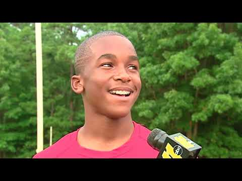 2009: Bryce Love as a young sprinting prodigy