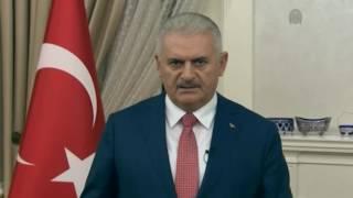 Başbakan Binali Yıldırım Demokrasi Nöbeti tutan vatandaşlara hitap etti - 01.08.2016