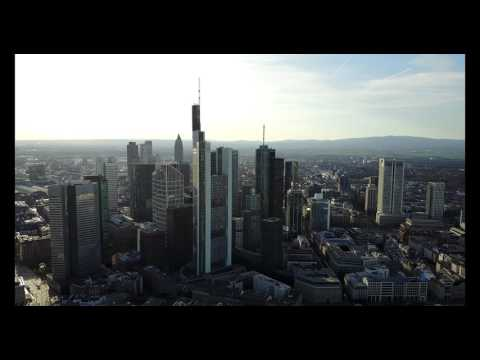 Mavic pro: Frankfurt am Main Skyline 4K Footage