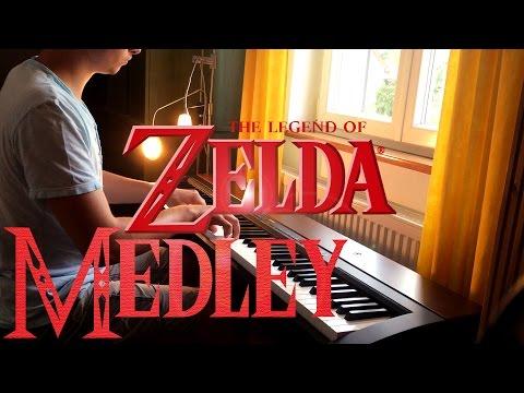 The Legend of Zelda - Piano MEDLEY [HD]