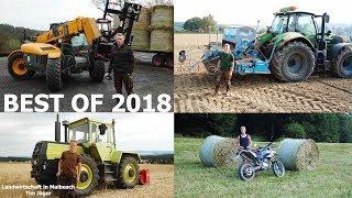 Mein Jahr in der Landwirtschaft - BEST of 2018 - MB-TRAC, IH 1455XL und vieles mehr!