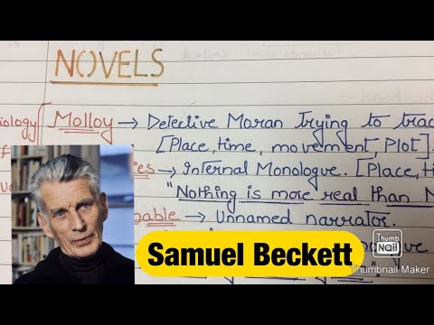 Samuel Beckett | Notes | NET/SET Exam | Life and Works