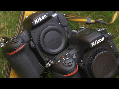 DRTV по-русски: Сравнение Nikon D500 и D750