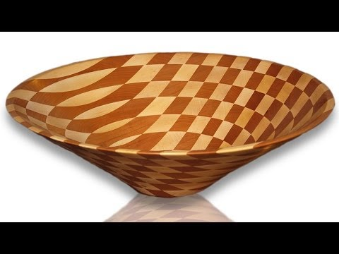 The Big Bowl Turning: Stacked Ring Technique