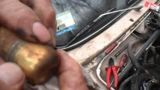 """регулировка поплавка карбюратора ваз""""вебер"""" """"озон"""".adjust the carburetor float vases"""