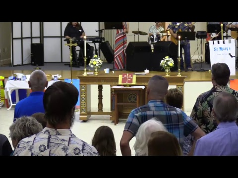 6.24.18 CFW Service at St Mary's Episcopal Church COMPLETE SERVICE