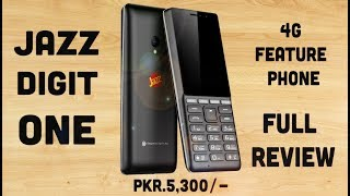 Jazz Digit One Detailed Review– 4G Feature Phone Rupees.5,300/- | Smartphone Reviews by Phoneworld