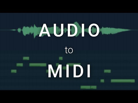 How To Convert Audio To MIDI in FL Studio 20