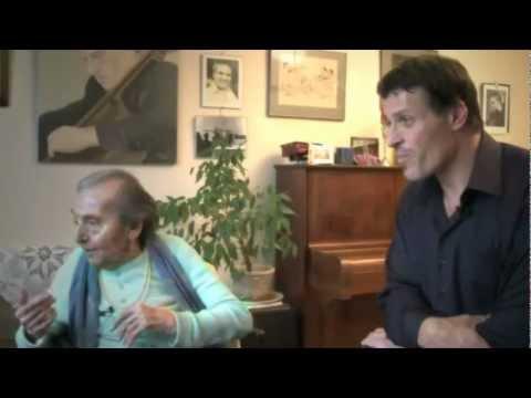 Tony Robbins en Français interview Alice Herz Sommer Anthony Robbins