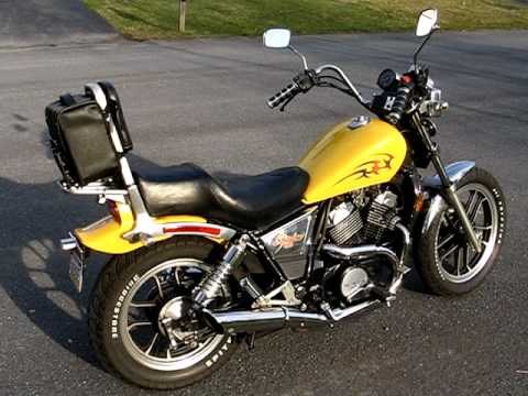 1983 Honda Shadow 500 VT500C - For Sale! - YouTube