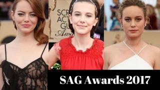 Emma Stone - Best Dressed Celebs at SAG Awards 2017
