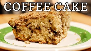 APPPLE CINNAMON COFFEE CRUMBLE CAKE GREAT FOR BREAKFAST WITH COFFEE