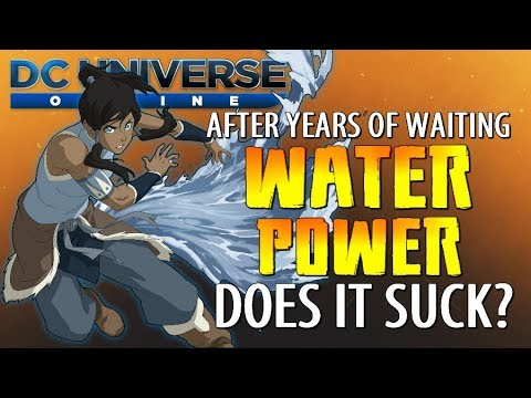 "DCUO - (GU74) Water Power Review! | ""Do Water Powers Suck?"" - (Game Update 74)"