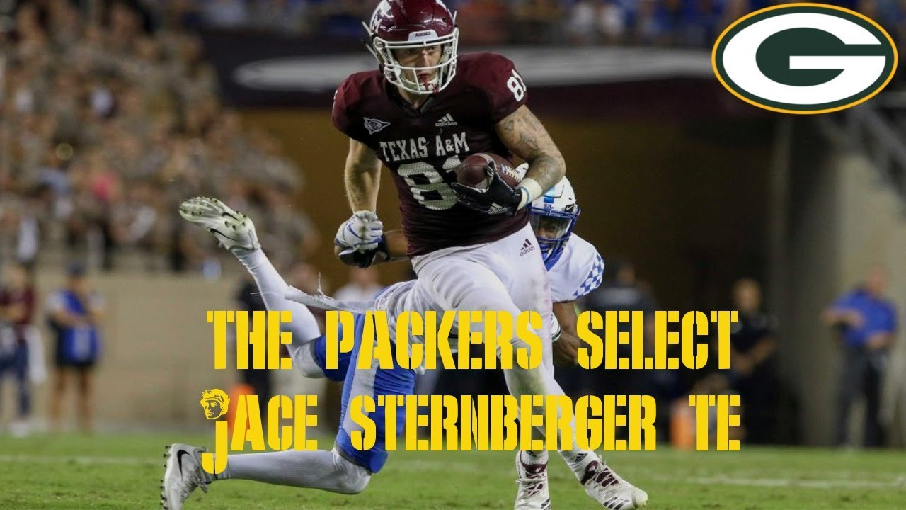 Packers draft tight end Jace Sternberger from Texas A&M