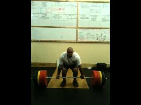 CrossFit AllStar Keli'i Ni'au 355 lb. Deadlift