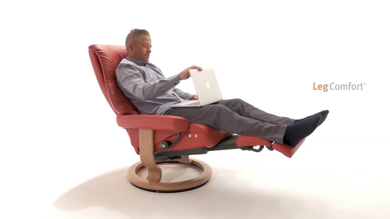 Stressless Nordic Legcomfort Stressless Legcomfort Demonstration Der Funktion House Of Comfort