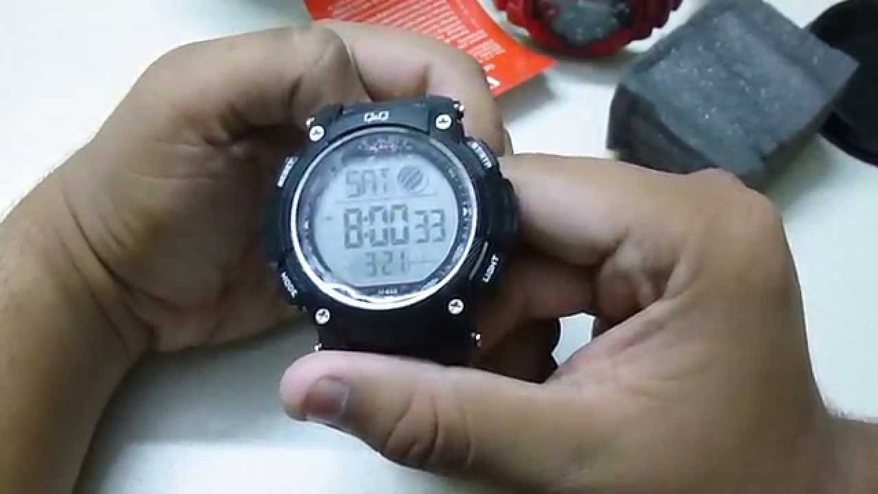 Q q digital watch unboxing in india youtube for Q q watches