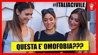 Questa è Omofobia? - #ITALIACIVILE - [Esperimento Sociale] - theShow