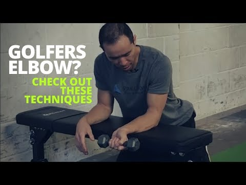 3 Best Golfers Elbow Treatment Exercises
