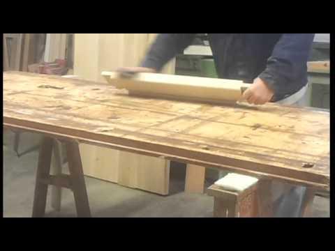 Gambe Tornite In Legno Per Tavoli.Costruzione Tavolo In Legno Con Gambe Tornite Youtube