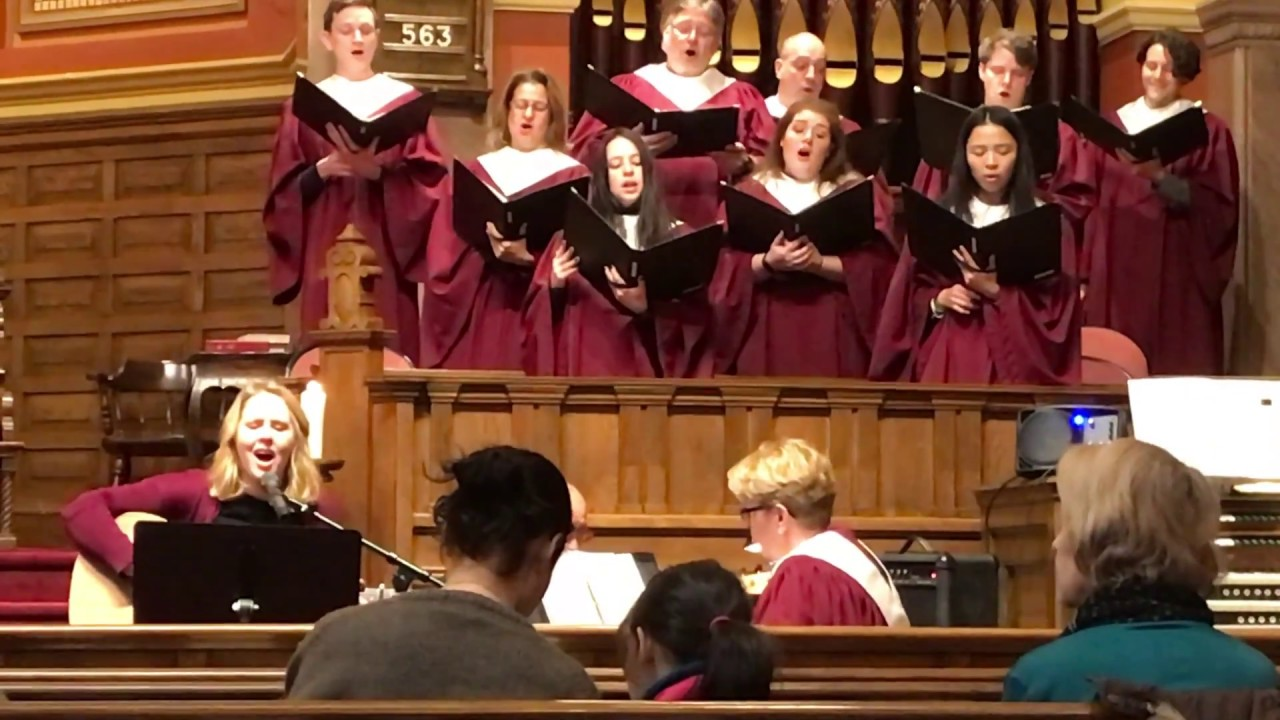 Rachel Jones - Up To The Mountain (MLK Song) by Patty Griffin - SATB Choir