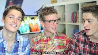 Jack & Finn Learn Gay Slang - The Harries Twin (Chinese subtitle) 中文字幕