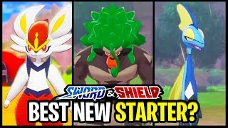 What is The BEST NEW Starter Pokemon in Pokemon Sword and Shield