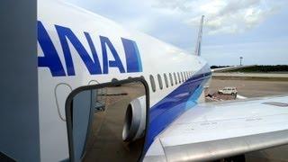 ANA Boeing 787 Dreamliner SJC-NRT