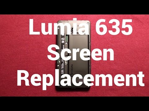 Nokia Lumia 635 Screen Replacement Repair How To Change