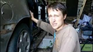 Кузовной ремонт: восстановление дверей часть 1