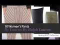 10 Women's Pants By Lauren By Ralph Lauren Spring 2017 Collection