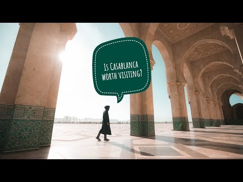 Is CASABLANCA Worth Visiting? (Best Of Morocco) - Vlog #97