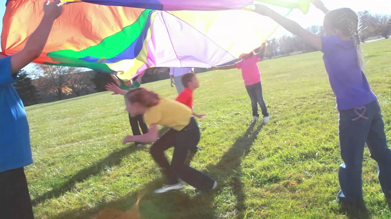 Parachute Games - YouTube