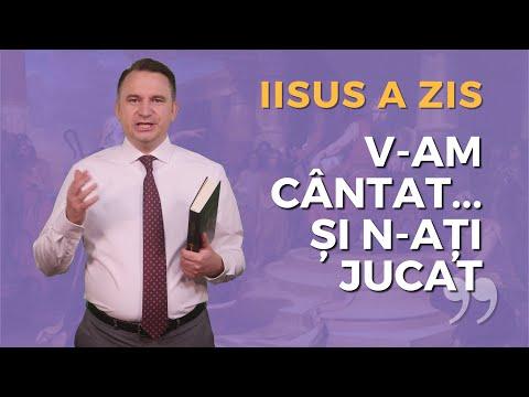 Iisus a zis: